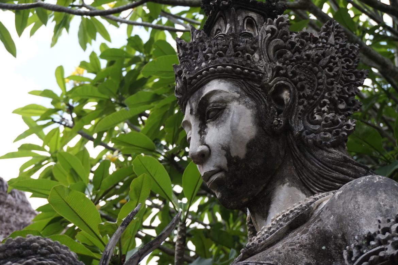 A goddess in Bali