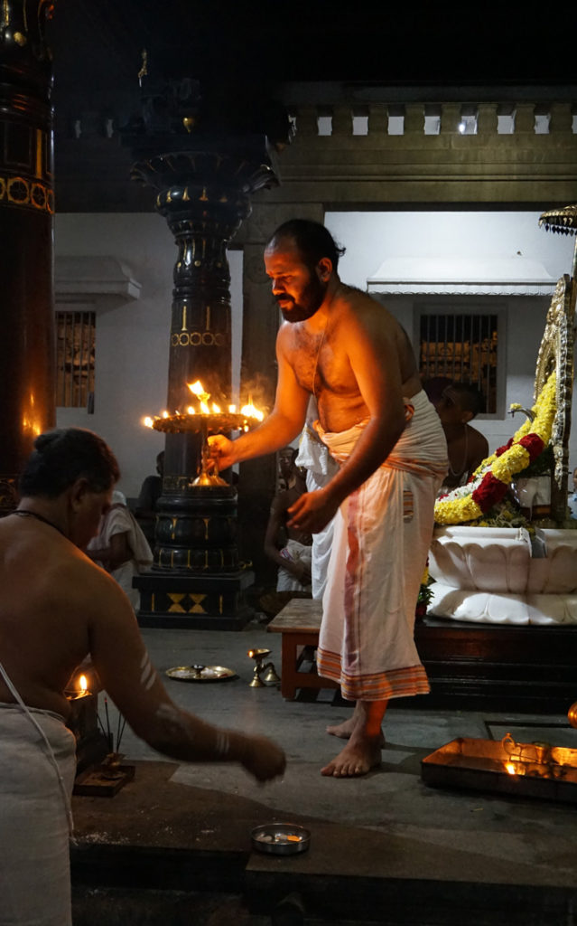 Shiva Puja, Sri Ramanasramam