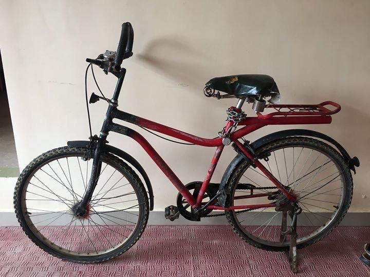 Ten megaton bicycle